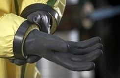 Вид герметизации рукава с использованием системы соединения Push-Fit.